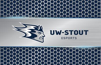 UW-Stout Esports with Blaze logo